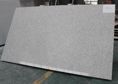 China White Marble Look Quartz Countertops , Marble Kitchen Countertops Big Slab supplier