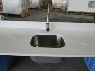 China White quartz kitchen worktops quartz kitchen top solid surface kitchen worktops supplier