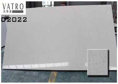 China Artificial Gray Quartz Kitchen Countertop Slabs Blue Color Durable And Beautiful supplier