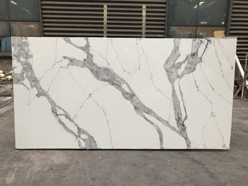 Quartz stone kitchen top Polished Artificial Quartz Stone Quartz Slabs 3200*1600mm