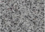 Crystal Gray Sparkle Mirror Fleck Quartz Stone Slab Elegant Italy Design