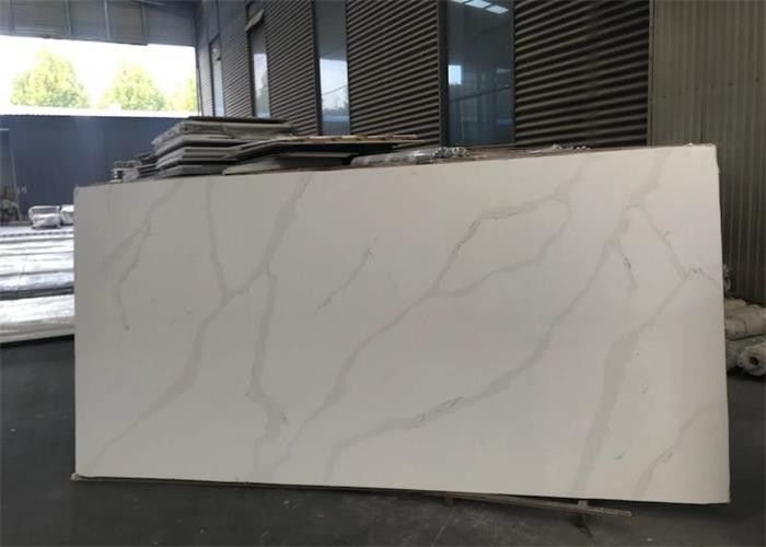 Luxury Natural White Quartz Countertops That Look Like Calacatta